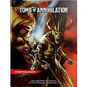 D&D 5.0 - Tomb of Annihilation TRPG