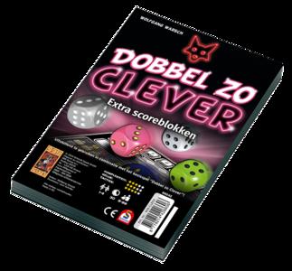 Dobbel Zo Clever Scoreblokken 999-Games